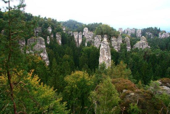 Hruba Skala - Rock City: Hruboskalske skalni mesto