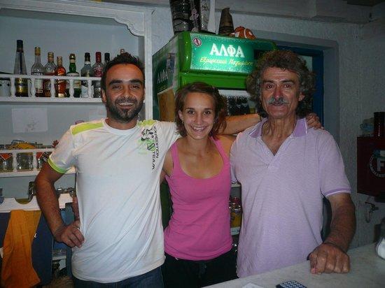 Taverna Tasos: das Team!