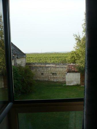 Le Clos a Bizay: vue de la chambre