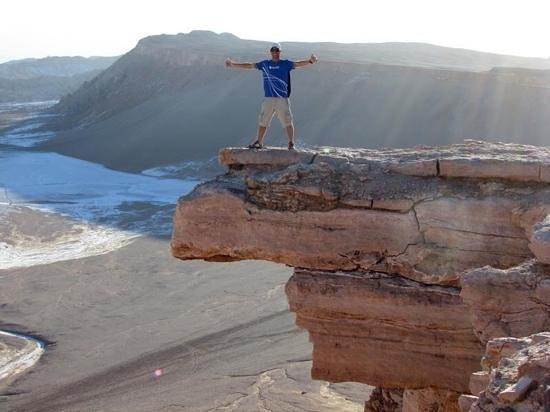 San Pedro de Atacama, Chili: Pedra do Coyote
