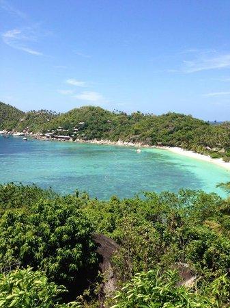 Jamahkiri Resort & Spa: 部屋から見えるサムイ島を越える程綺麗なオーシャンビュー