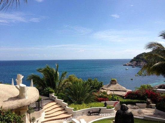 Jamahkiri Resort & Spa: レストランからの眺め