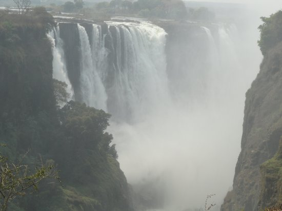 Elephant Hills Resort: View of Vic Falls