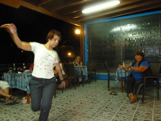 Billy's Studios : Kontessa showing us Greek Dance
