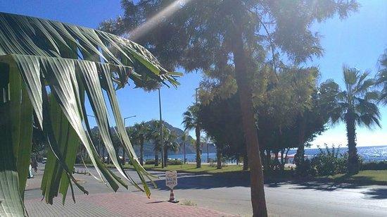 Fatih Hotel Kleopatra: Promenade