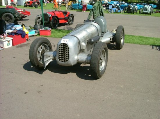 "Prescott Speed Hill Climb: ""Lightweight"" - once the property of Alec Issigonis, designer of the Morris Minor and the Mini."