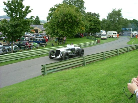 Prescott Speed Hill Climb: Ex John Cobb Napier Railton; the lap record holder at Brooklands