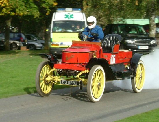 Prescott Speed Hill Climb: Stanley Steam Car.