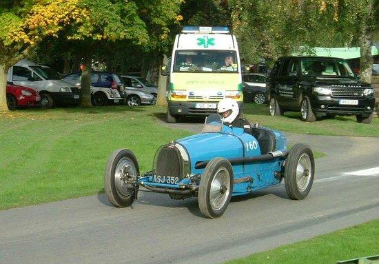 Prescott Speed Hill Climb: Bugatti Type 59.
