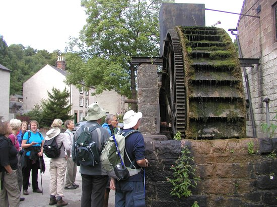 Sally Mosley Guided Walks: Cromford Water Mill