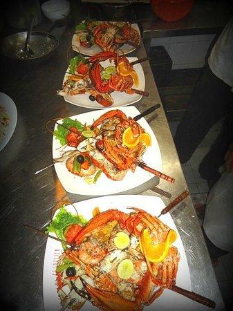 Escoffier: Seafood platters