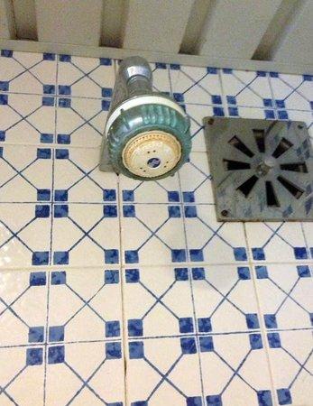Estoril Eden Hotel: Fixed shower