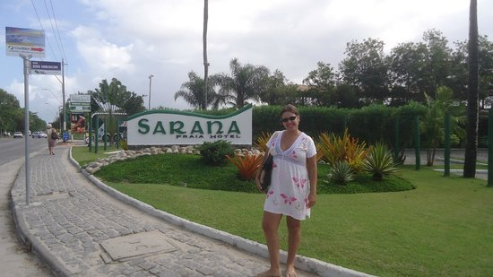 Sarana Praia Hotel: Acabando de chegar..!!!