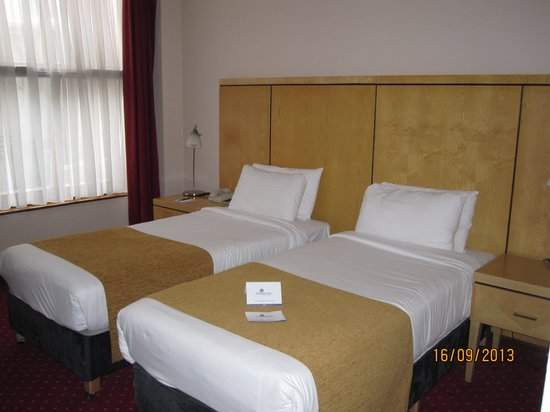 Temple Bar Hotel: Twins Beds