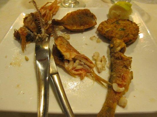 Apollonion Osteria da Carlo: And excellent fried fish plate
