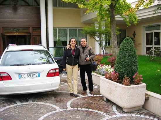 Abano Grand Hotel : See the glee. Ready for a local drive