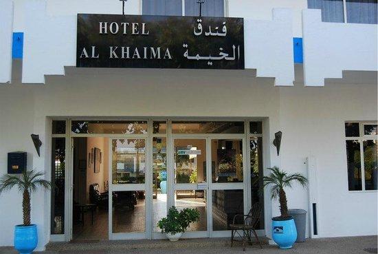 Hotel Al Khaima: entrée