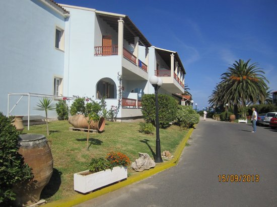 Acharavi Beach Hotel: отель