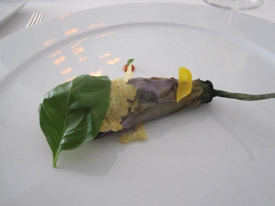 An aubergine amuse bouche picture of ristorante la gazza ladra modica tripadvisor - Amuse gueule italien ...