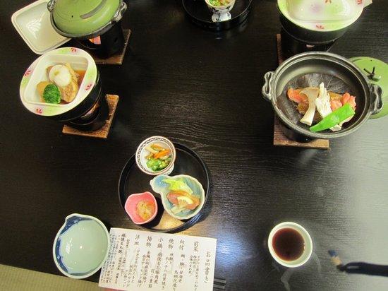 Kyukamura Myoko : 休暇村の夕食1