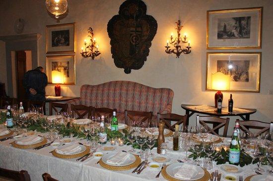 Pelago, Italië: una sala interna