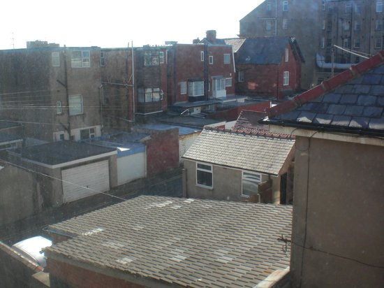The Collingwood Hotel: View from window!