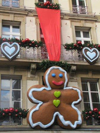Romantik Hotel Du Parc: Décoration pour Le Noel de Strasbourg