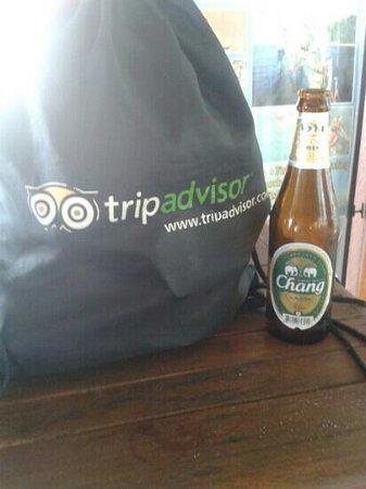 Novotel Samui Resort Chaweng Beach Kandaburi: this bag has been all around the world