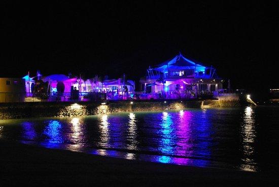Ibiza Beach Club: Ibiza night lights