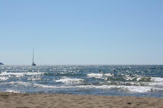 Iztuzu Beach: Warm enough to swim in Septenber