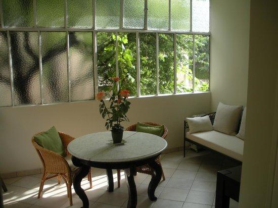 Hotel Villa Les Cygnes: Room 3 - Patio