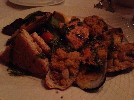 Il Ristorante Fellini : seafood starter
