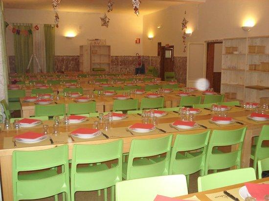 Tabano Ristorante-Casolare: Salone accogliente