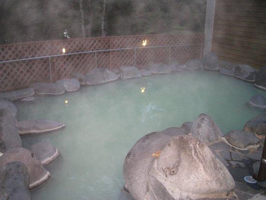 Chuzenji Kanaya Hotel : 露天風呂