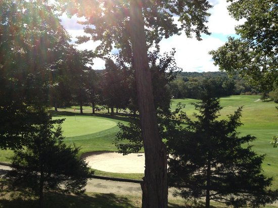 The Spa at Norwich Inn : view from deck