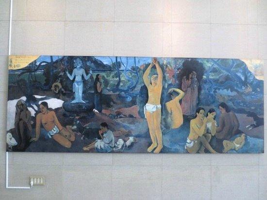 Nagoya/Boston Museum of Fine Arts: ゴーギャンレプリカ