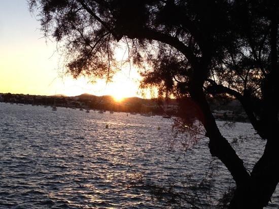 """Blue Bar: Sonnenuntergang an der """"Blauen Bude"""""""