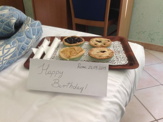 Birthday Surprise at Hotel Grifo!