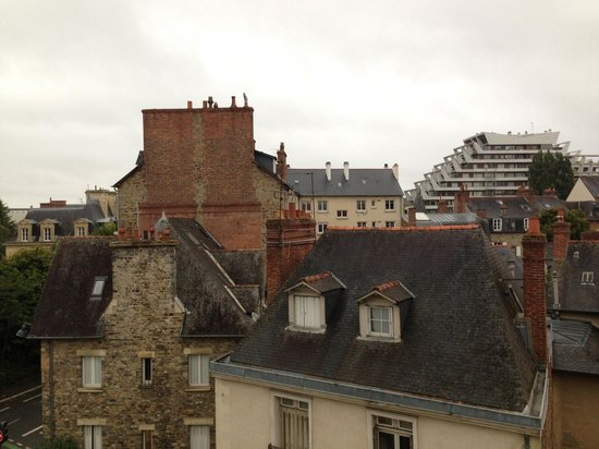 Adagio Access Rennes Centre : View from my Room