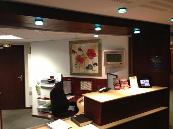 Adagio Access Rennes Centre: Reception
