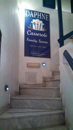 Daphne Family Tavern Casserole: Enterence