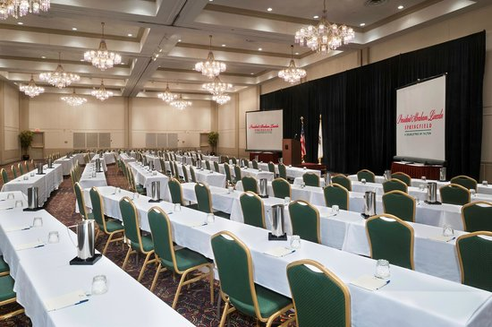 President Abraham Lincoln Springfield - a DoubleTree by Hilton Hotel: Event Space