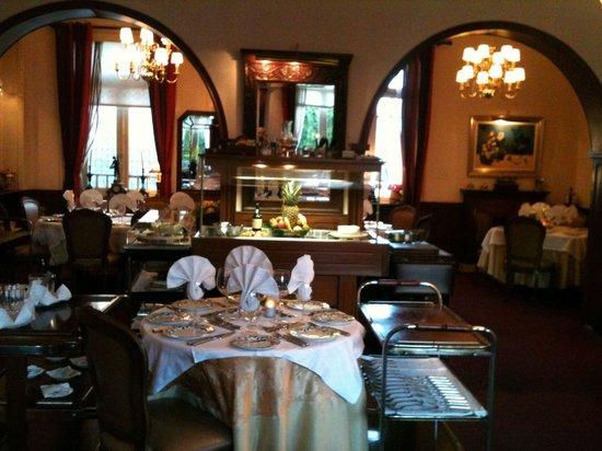 Restaurante O Chanquinhas: Sala de jantar