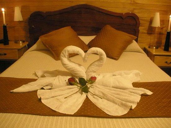 Hotel Green House: Cama Matrimonial