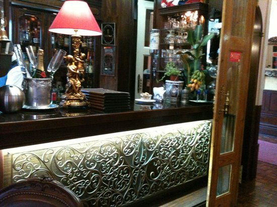 Restaurante O Chanquinhas: Bar de apoio