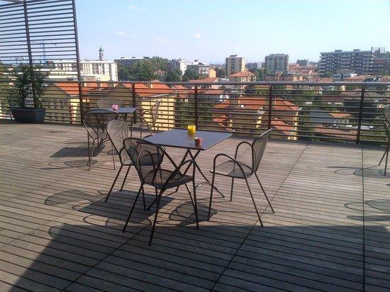 Italiana Hotels Milan Rho Fair: La terrasse