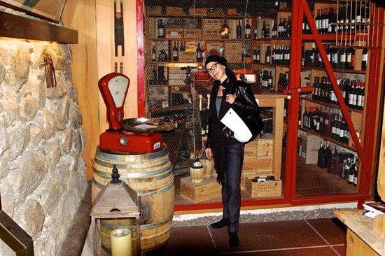 Bistro Seibstock: Die Weinschätze gut gesichert