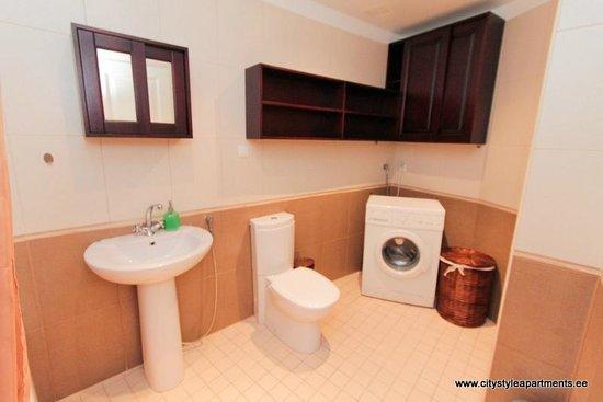 City Style Apartments: Washing machine available