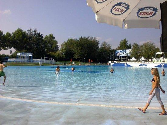Aquafan: la piscina!!!!!