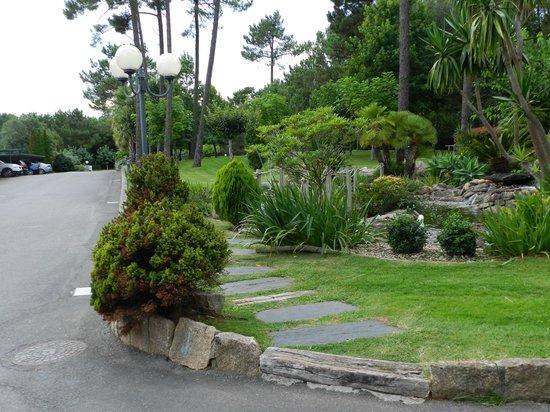 Hotel Spa Atlántico: Jardín